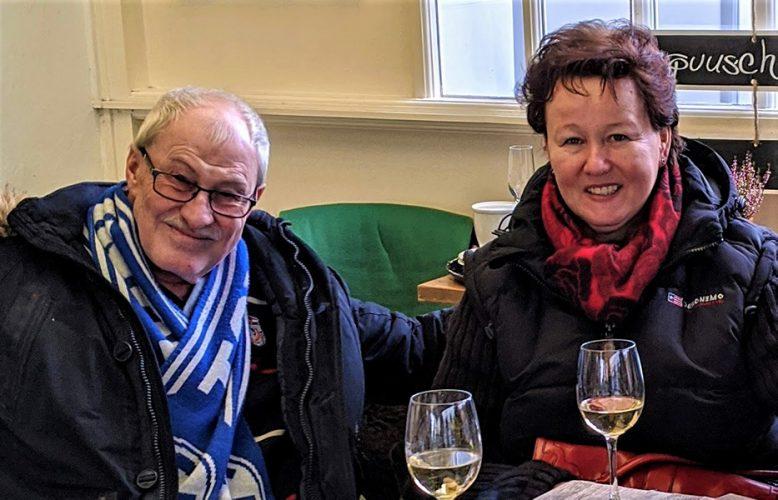 Andreas Gustke mit Lisa